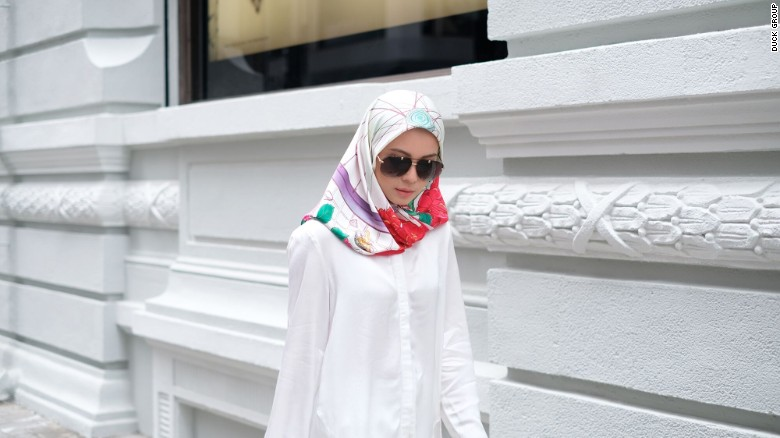 Princess Sarah of Brunei to design a headscarf that's packed with symbolism