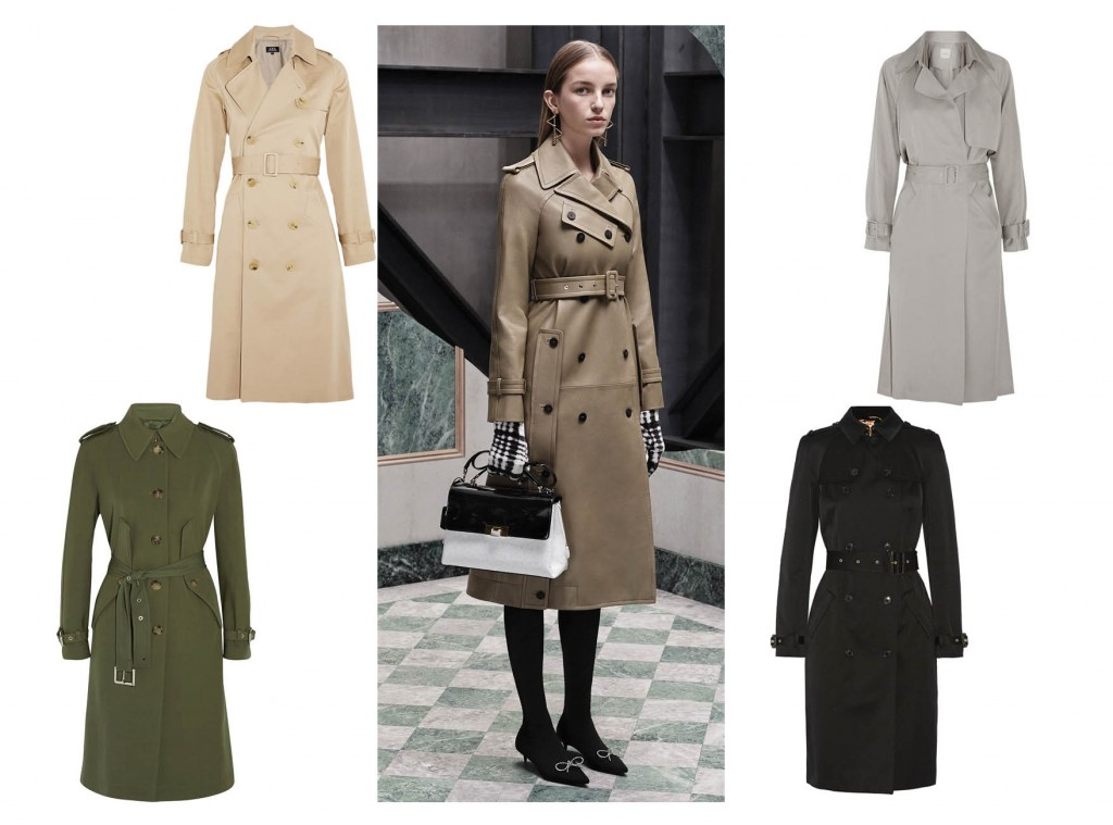 British accent: the best trench coats for spring