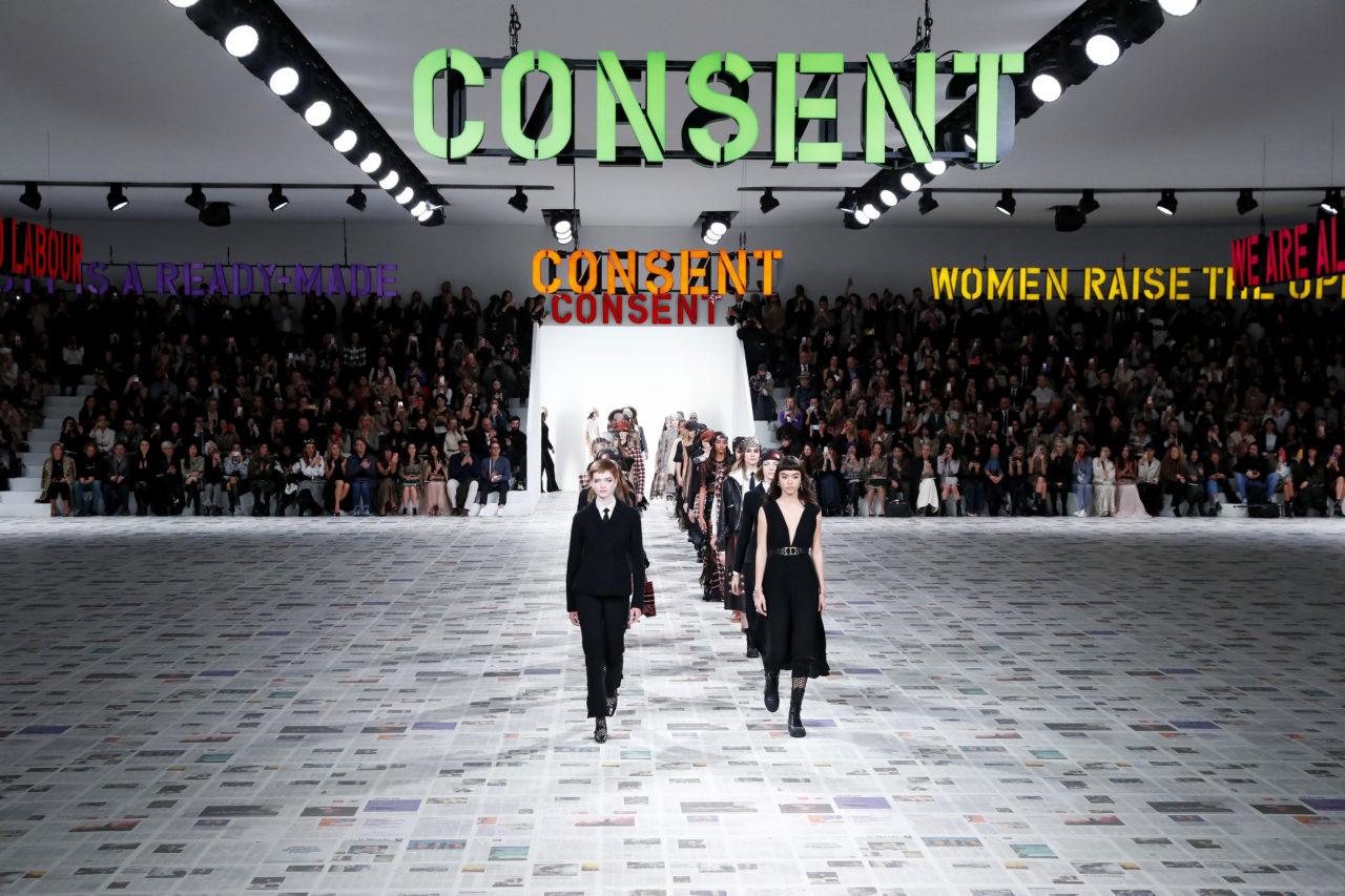 Dior FW'2020: Women's Love - Unpaid Labor