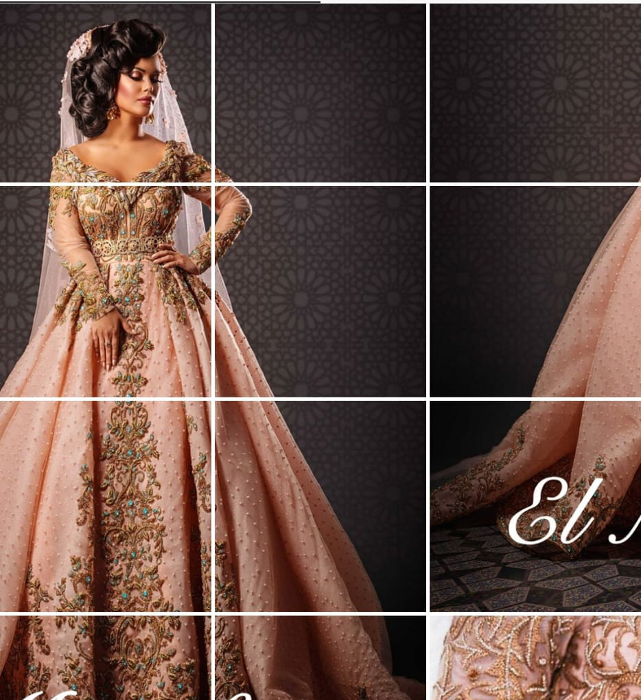 Moroccan wedding dresses for brides