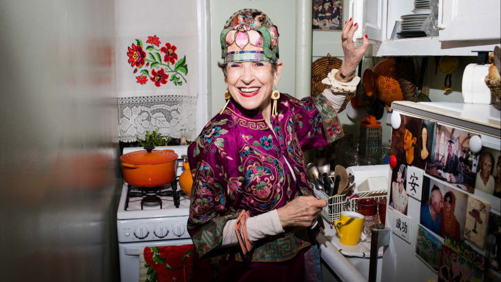 New York's most stylish senior on fashion and spirituality