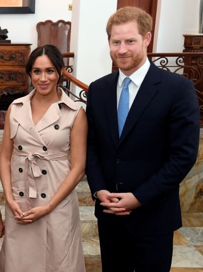 "Harry's net worth is estimated at roughly $25 million, Meghan's at $5 million.  Again, those are considerable sums, but it's not ""never work again money"" -- at least not when you're accustomed to the very finest things in life, like these two are.  Meghan's money comes mostly from what she earned and saved during her days as an actress and influencer."