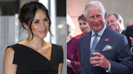 Charles has been accused of actively opposing his son's marriage to Meghan