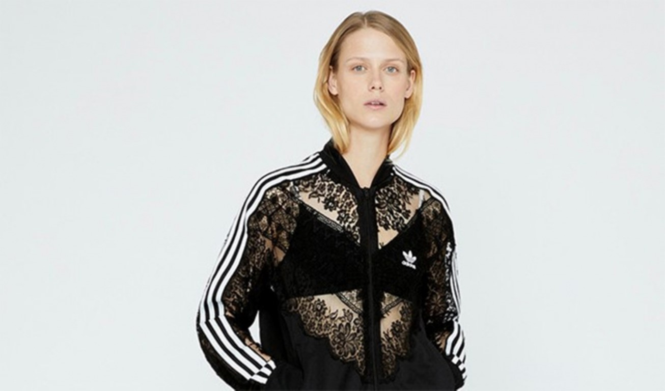 """Sports And Femininity: Stella Mccartney Created A """"Lace"""" Collection Of Sportswear /></p> <p></p> <p style="""